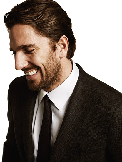 Lundqvist in happier times.