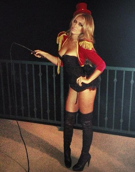 Paulina Gretzky plans to whip the NHL's owners and players into shape.